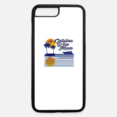 Catalina Wine Mixer Beach Palm Trees - iPhone 7 & 8 Plus Case