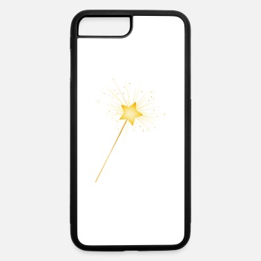 Girl Elven Elf golden star magic wand for fairies to conjure - iPhone 7 & 8 Plus Case