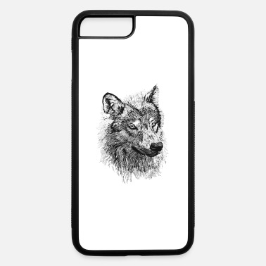 Hand Painted WOLVEHEAD HAND PAINTED - iPhone 7 & 8 Plus Case