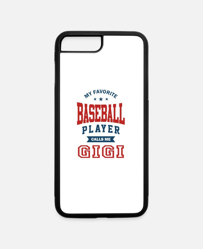 Favorite iPhone Cases - Baseball player grandmother - iPhone 7 & 8 Plus Case white/black