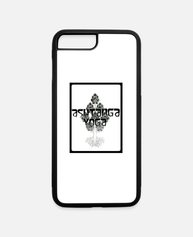 North Carolina iPhone Cases - Ashtanga the 8 Limb Yoga - iPhone 7 & 8 Plus Case white/black
