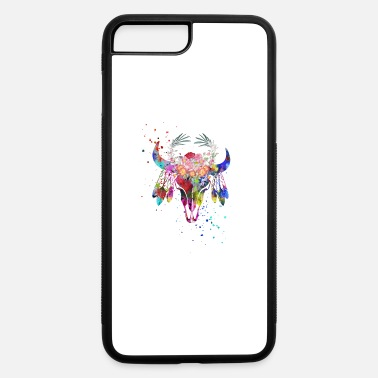 Native American Buffalo Native American Buffalo skull - iPhone 7 & 8 Plus Case