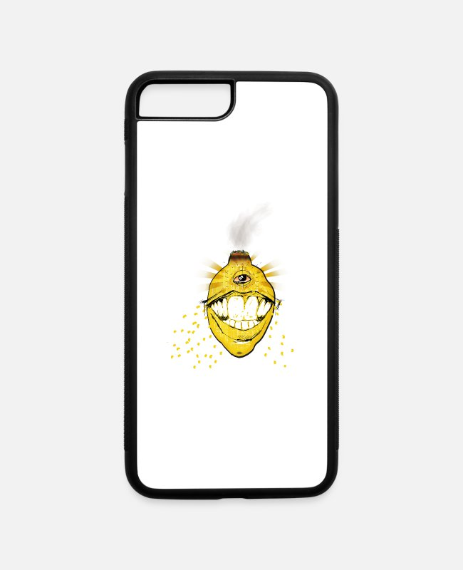 Caracter iPhone Cases - Lemon - iPhone 7 & 8 Plus Case white/black