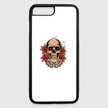 Knuckles Skull - iPhone 7 Plus/8 Plus Rubber Case