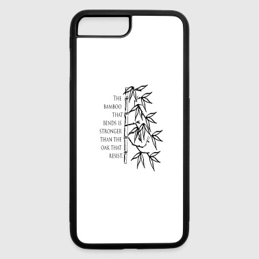 The Bamboo that bends - iPhone 7 Plus/8 Plus Rubber Case