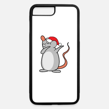 Mouse Christmas Xmas Dabbing Dab Mouse - iPhone 7 & 8 Plus Case