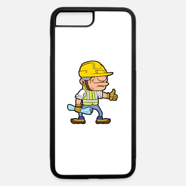 Worker construction worker - iPhone 7 Plus/8 Plus Rubber Case