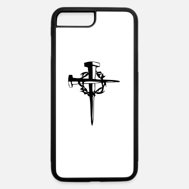 Tattoo Cross cross nails - iPhone 7 & 8 Plus Case