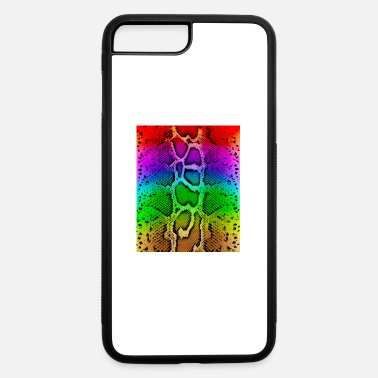 Flashy Flashy Rainbow Snakeprint - iPhone 7 & 8 Plus Case