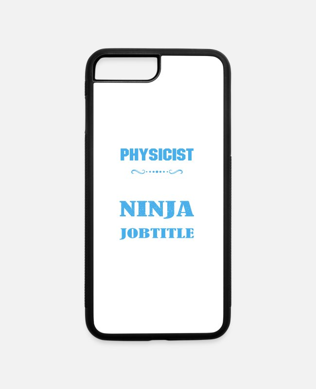 iPhone Cases - Physicist Shirt - iPhone 7 & 8 Plus Case white/black
