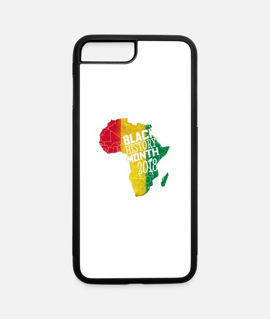 Month iPhone Cases - I'm Black Every Month Black History Month 2018 - iPhone 7 & 8 Plus Case white/black