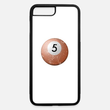 5 Ball Pool Table Balls 5 Professional Billiard Balls Shirt - iPhone 7 & 8 Plus Case