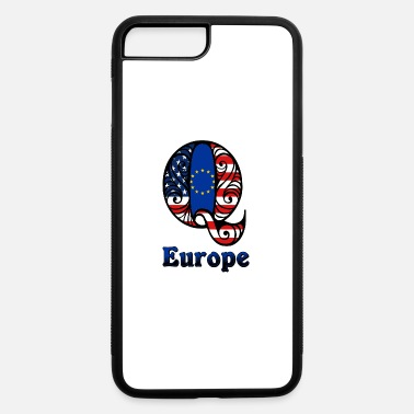 Europe Q Europe - iPhone 7 Plus/8 Plus Rubber Case