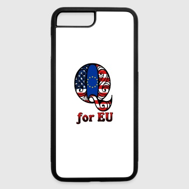 Eu Q for EU - iPhone 7 Plus/8 Plus Rubber Case