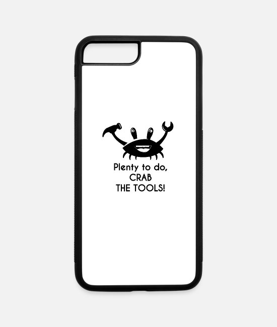 Crab iPhone Cases - Crab - iPhone 7 & 8 Plus Case white/black