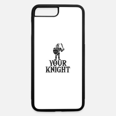 Middle Ages Knight Shield Armor Sword Gift middle ages - iPhone 7 & 8 Plus Case