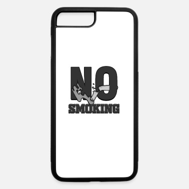 Thank You For Not Smoking No smoking Public Law Symbol Prohibited Sign Anti - iPhone 7 & 8 Plus Case