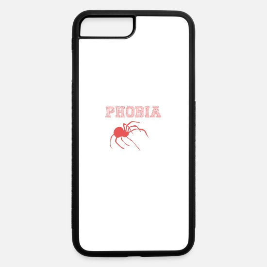 Birthday iPhone Cases - Arachnophobia - iPhone 7 & 8 Plus Case white/black