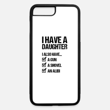 Daughter Father and Daughter Father's Day Gift Father Dad - iPhone 7 & 8 Plus Case