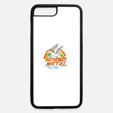 Speed Metal Funny speed metal rainbow unicorn - iPhone 7 & 8 Plus Case