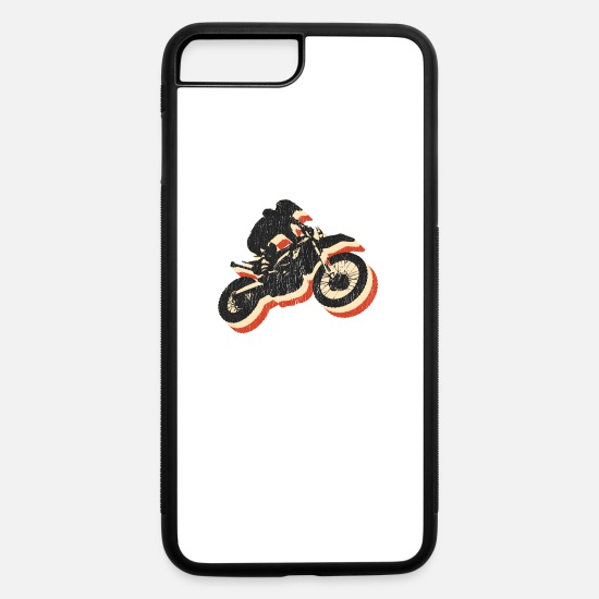 Bike iPhone Cases - Motocross - iPhone 7 & 8 Plus Case white/black