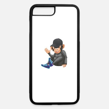 Ape with Sneaker and Baseball Cap Monkey - iPhone 7 & 8 Plus Case