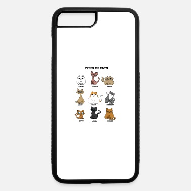 Cat Breed Cat Breeds Cat mother Lady funny gift - iPhone 7 & 8 Plus Case