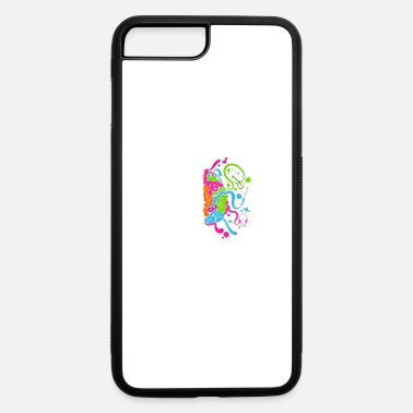 Colorful Brain Science and Art - iPhone 7 & 8 Plus Case