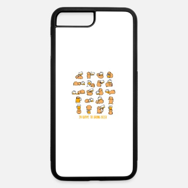 Drinking Contest 20 Ways To Drink Beer Drinking Contest Puppy Gift - iPhone 7 & 8 Plus Case