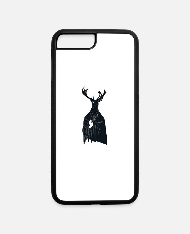Undead iPhone Cases - Cult of the deer - iPhone 7 & 8 Plus Case white/black
