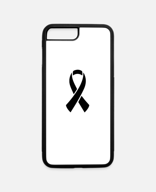 Sida iPhone Cases - I aids ico png black 2b5a6e2f906cd640a67efc9ea2301 - iPhone 7 & 8 Plus Case white/black