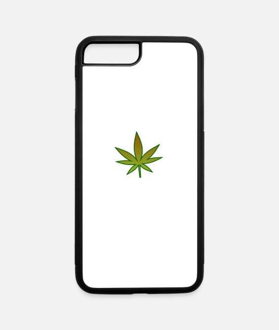 Pothead iPhone Cases - Weed - iPhone 7 & 8 Plus Case white/black