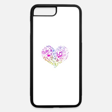 Heart Palpitations Music heart - love - iPhone 7 & 8 Plus Case