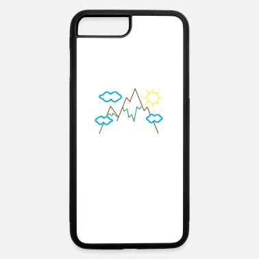 Declaration Of Love A cuddly declaration of love for alpine cycling! - iPhone 7 & 8 Plus Case