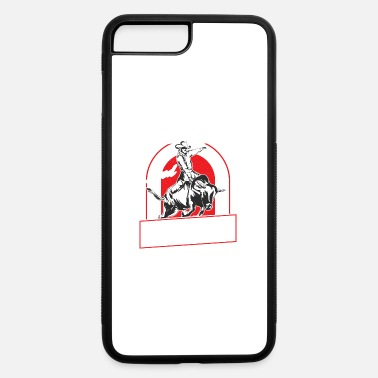 Bull Riding Bull Riding And Boobies - iPhone 7 & 8 Plus Case