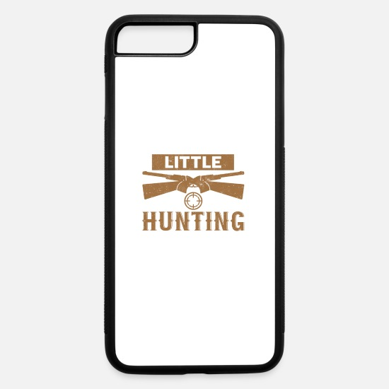 Hunting iPhone Cases - Daddys Little Hunting Buddy - iPhone 7 & 8 Plus Case white/black