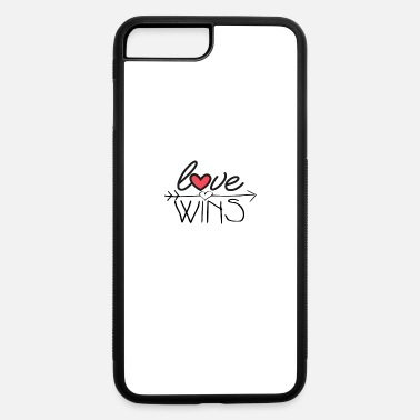 Love LOVE WINS - love always wins - iPhone 7 & 8 Plus Case