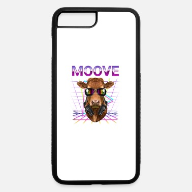 Outrun Style DJ Cow Moove - iPhone 7 & 8 Plus Case