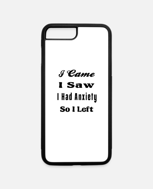 Screwdriver iPhone Cases - i came i saw i have anexity - iPhone 7 & 8 Plus Case white/black