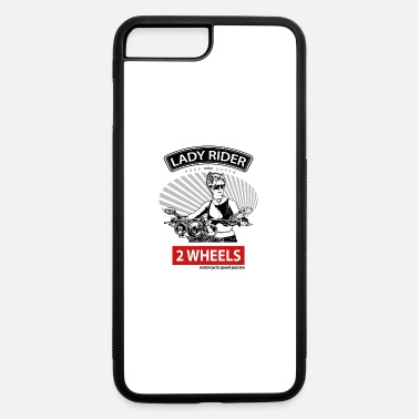 Bold Lady Rider Road Queen, T-shirt for Biker - iPhone 7 & 8 Plus Case