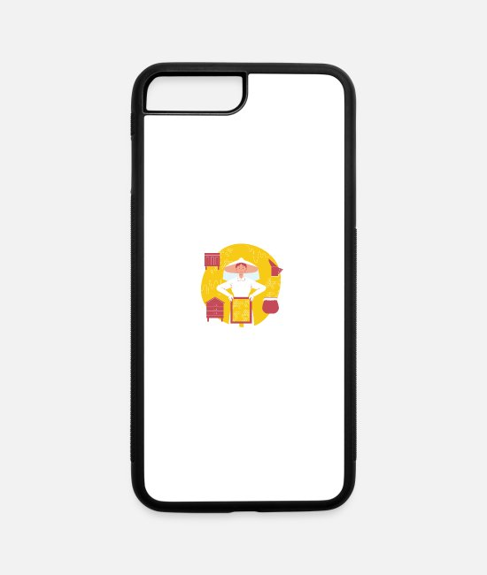 Nature iPhone Cases - Honey Dealer - iPhone 7 & 8 Plus Case white/black
