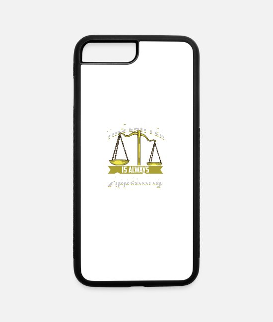 Sue iPhone Cases - This Lawyer Is Always Appealing - iPhone 7 & 8 Plus Case white/black