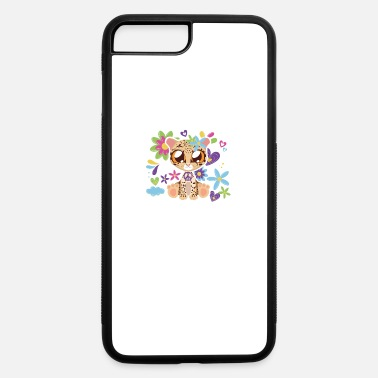 Cub Cheetah cute cub pirate hippie glasses - iPhone 7 & 8 Plus Case