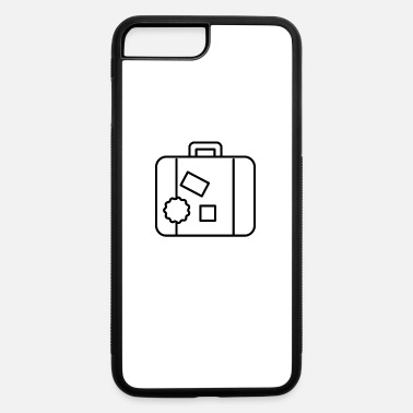 Suitcase Suitcase - iPhone 7 & 8 Plus Case