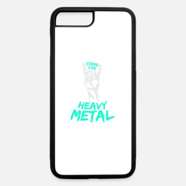 Fries Fork Heavy Metal Music Stand For Metal French Fries - iPhone 7 & 8 Plus Case