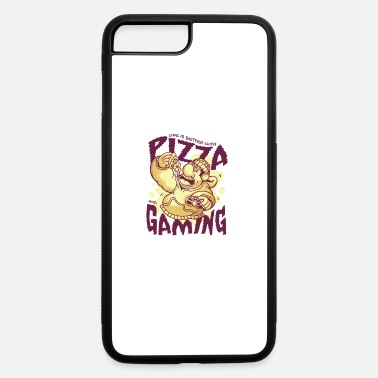 PIZZA AND GAMING - iPhone 7 & 8 Plus Case