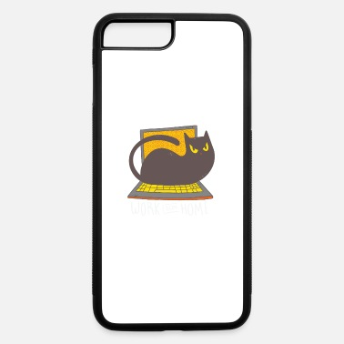 Office Humor Work Home Outfit Cat Office Humor Home Office - iPhone 7 & 8 Plus Case