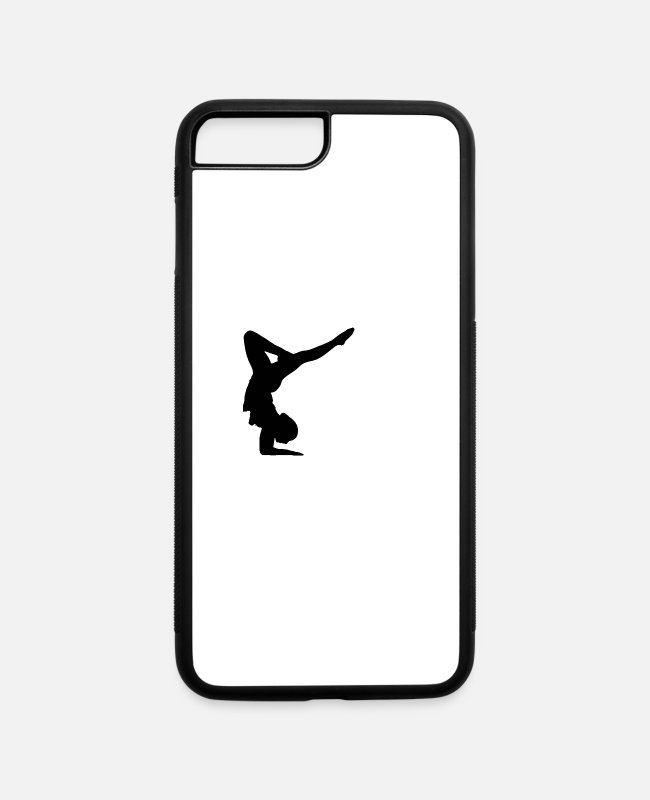Fighter iPhone Cases - GYMNAST - iPhone 7 & 8 Plus Case white/black