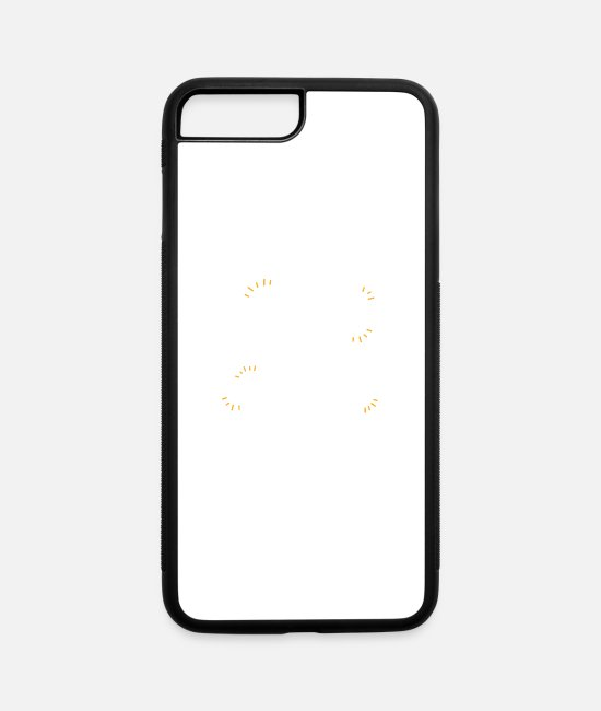 Secret Society iPhone Cases - Bad hair Dont care - iPhone 7 & 8 Plus Case white/black
