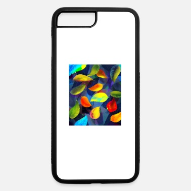 Original Painting Fantastically beautiful tree leaves with an origin - iPhone 7 & 8 Plus Case